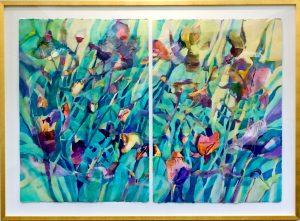 Blooms65,framed-Holland